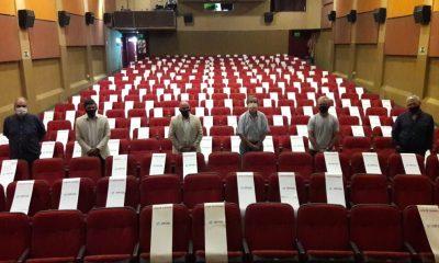 Cine Teatro listo para la reapertura
