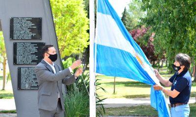 200 años del izamiento de la bandera argentina en Malvinas