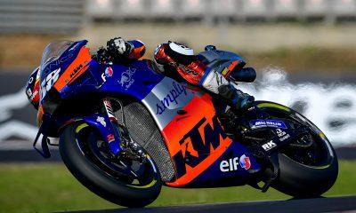 Moto GP Oliveira KTM se dio el gusto en casa