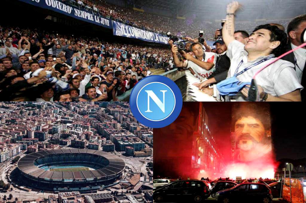 Napoli aplauso Maradona