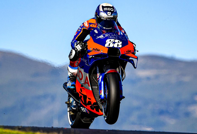 Moto GP Oliveira profeta en su tierra