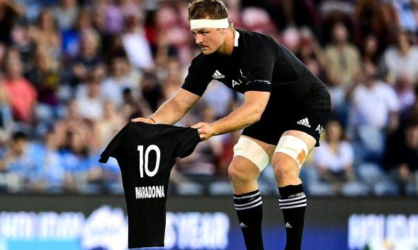 Homenaje de All Blacks a Maradona