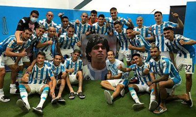 Racing logró su primer triunfo en la Copa Diego Maradona