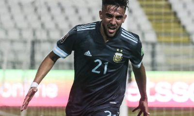 Nicolás González figura de la selección ante Perú