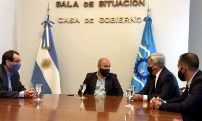 Ricardo Sastre reunión con el Poder Judicial