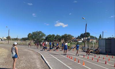 La Escuela Municipal de Atletismo de Madryn comenzó la pretemporada