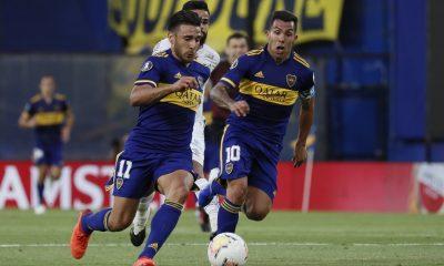 Boca no pudo sacar ventaja con Santos en la primera semifinal