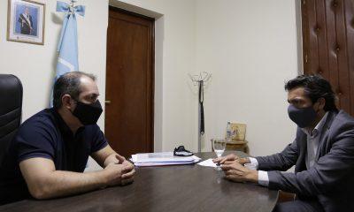 Reunión entre Grazzini y Diego Carmona