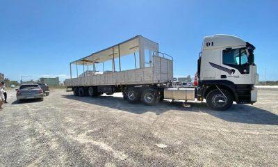 Continúan los avances en la construcción del Hospital Modular de Madryn