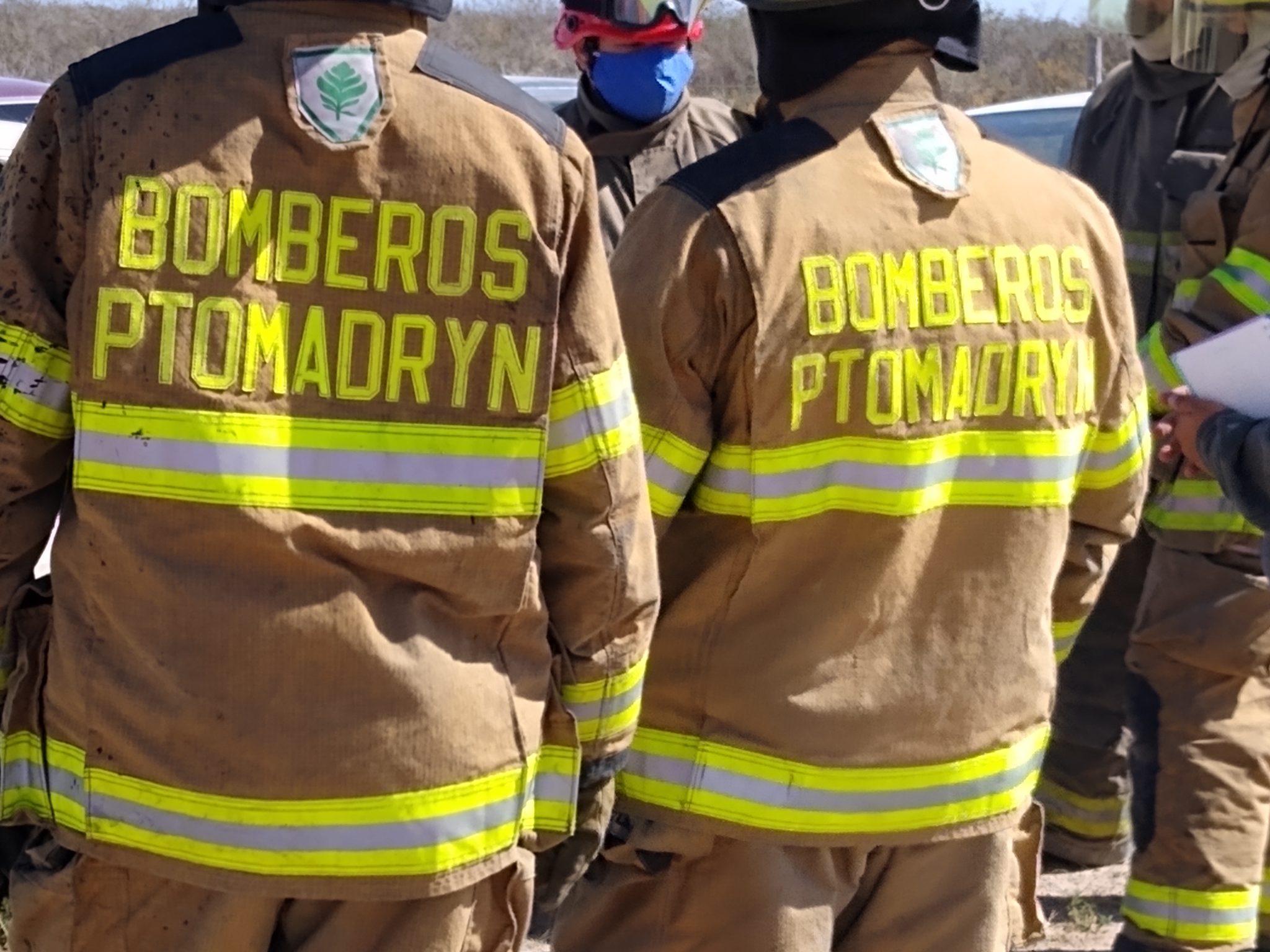 Nuevos aspirantes a Bomberos Voluntarios en Puerto Madryn