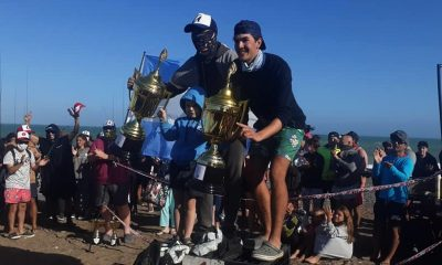 Aranea-Pérez ganadores 24 Horas de Pesca