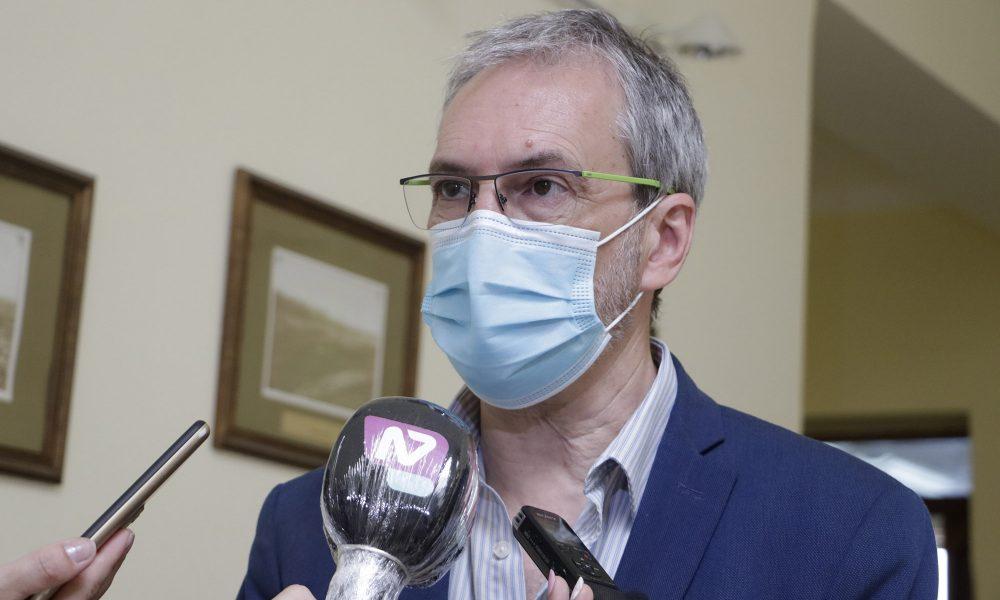 Fabián Puratich ministro de Salud de Chubut