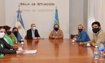 Reunión entre el Gobierno Provincial y ATE Comodoro