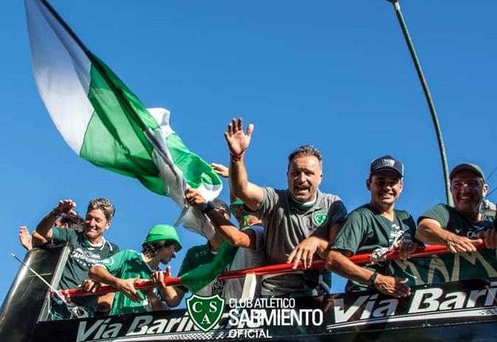 Gerardo Alfaro regreso con gloria de Sarmiento de Junín