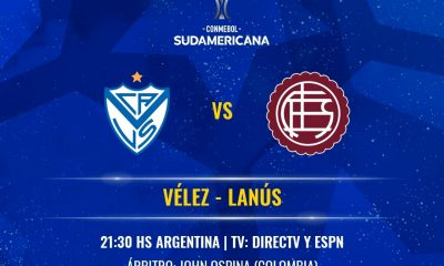 Sudamericana Vélez-Lanús