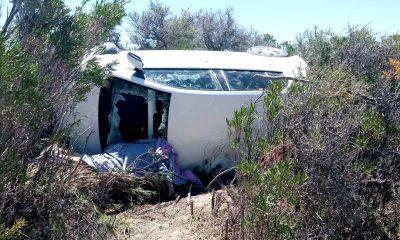 Vuelco con víctima fatal cerca de Isla Escondida