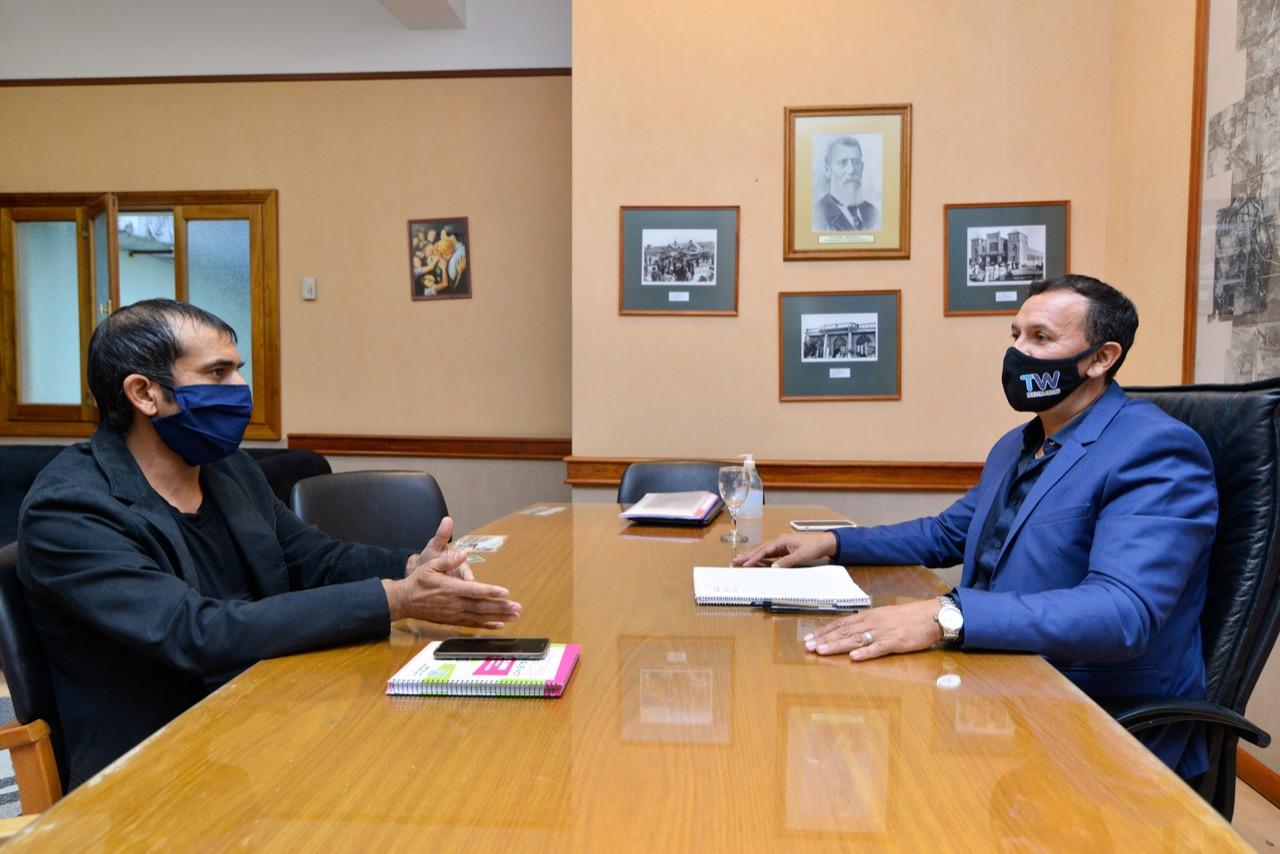 Maderna se reunió con Jorge Ávila