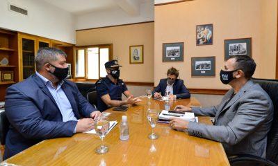 Reunión entre Maderna y Cristian Santor