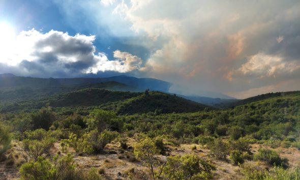 el incendio que ya afectó 7 mil hectáreas