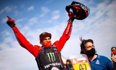 Banavides es el primer sudamericano en ganar en motos