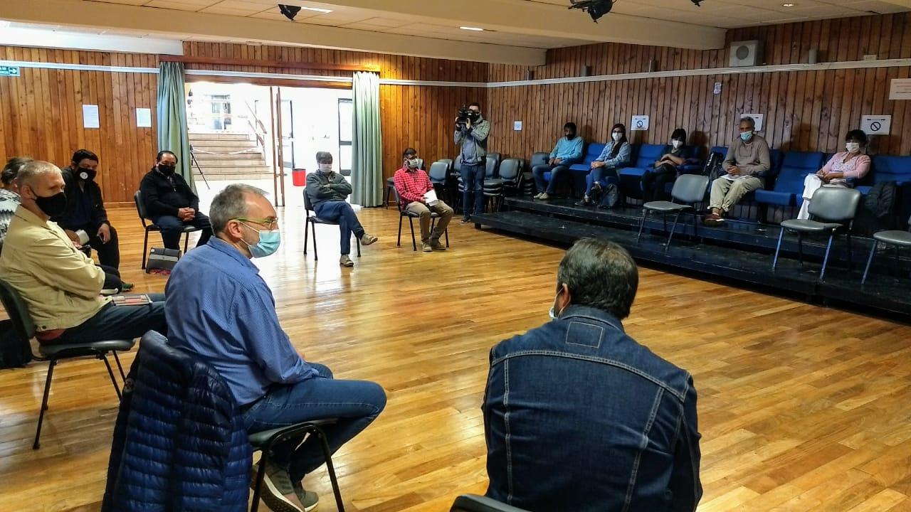 Puratich mantiene reuniones en Esquel