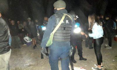 Fiesta clandestina en Gaiman