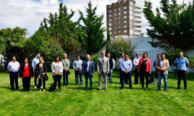 Reunión de Arcioni con los jefes comunales