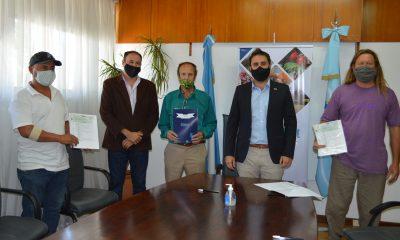 Chubut hizo entrega de aportes productores agropecuarios