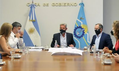 Reunión de Arcioni con autoridades del Museo Provincial de Ciencias Naturales y Oceanográfico