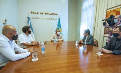 Reunión entre funcionarios provinciales y la CNRT