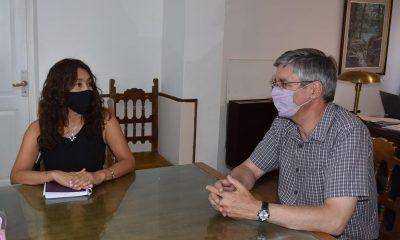Reunión entre Ongarato y el Banco del Chubut