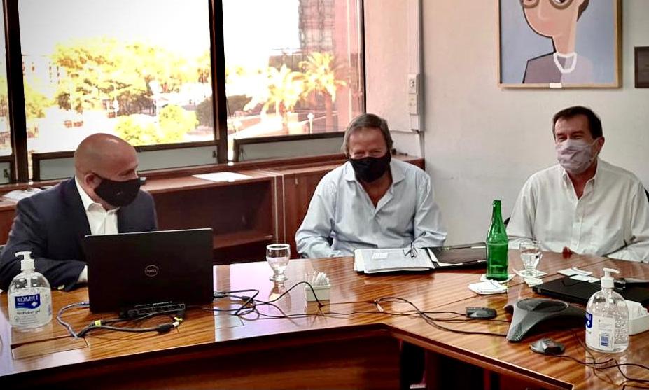 Sastre reunión con Cammesa por Servicoop