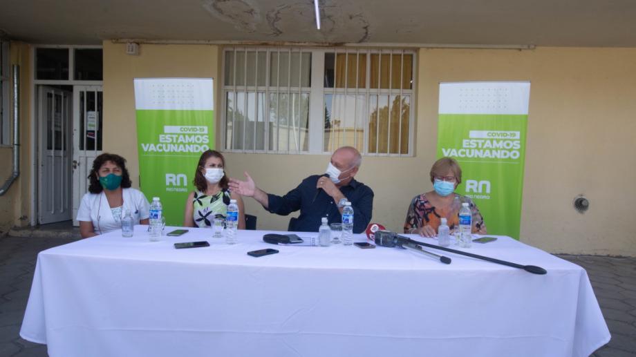 Vacunación contra el coronavirus en Roca