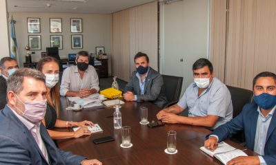 Matías Lammens se reunió con intendentes de Neuquén
