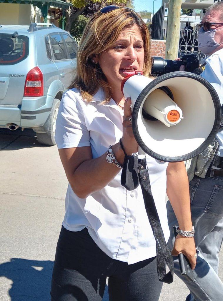 Liliana Guerra, madre del ciclista atropellado