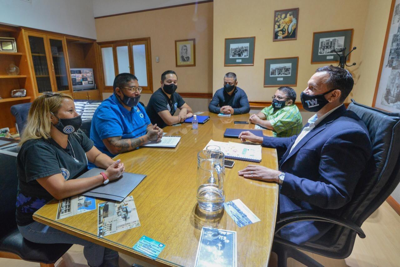 Reunión de Maderna con UPSAP