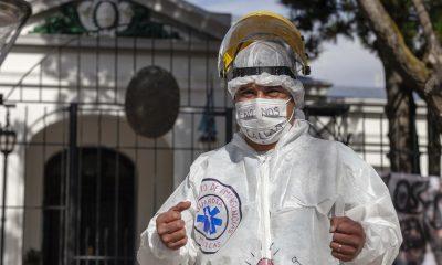 Marcha de los enfermeros de Santa Cruz