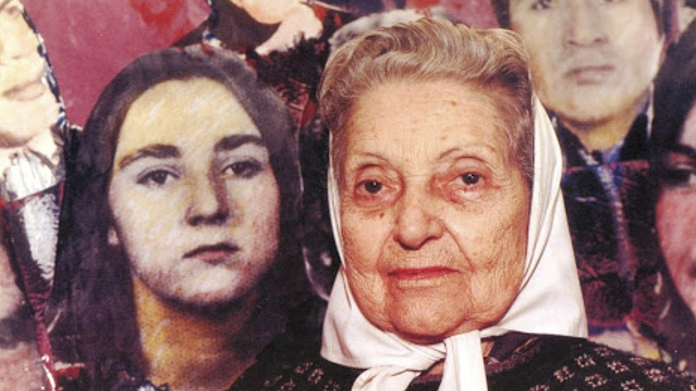 Josefa Lepori de Mujica Madre de Plaza de Mayo