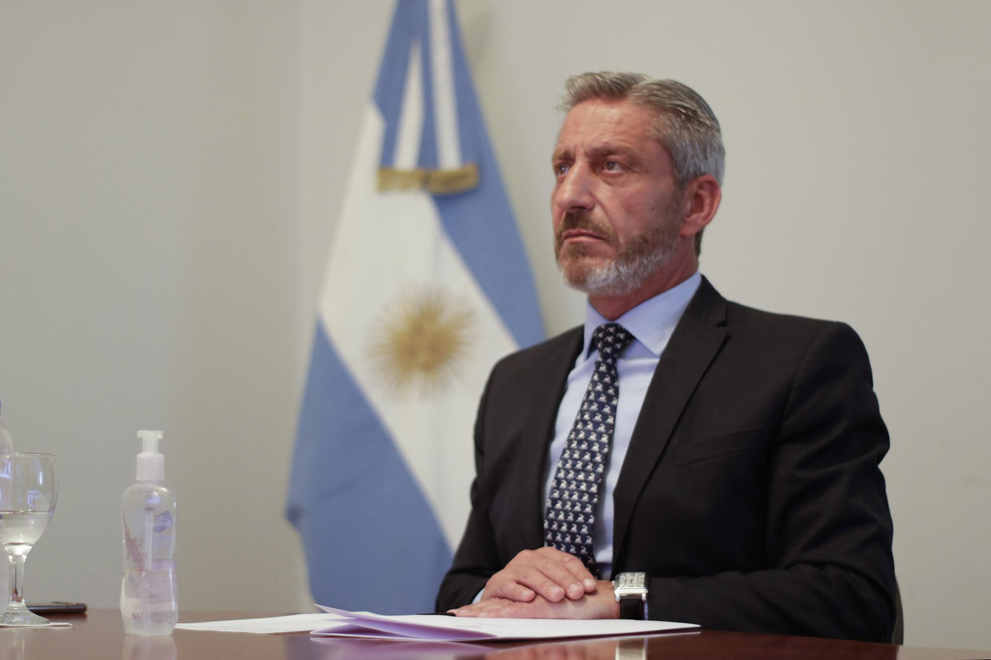 Arcioni acompañó Fernández