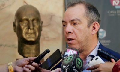 Grazzini habló del discurso de Arcioni