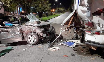 Accidente fatal en pleno centro de El Bolsón