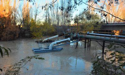 Turbiedad en el río Chubut