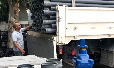 Reparación red de distribución de agua de El Hoyo