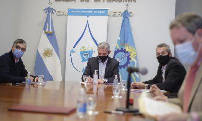 Abrieron licitación para ejecutar obras hídricas en Sarmiento