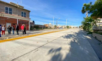 Pavimentación de la calle Estivariz