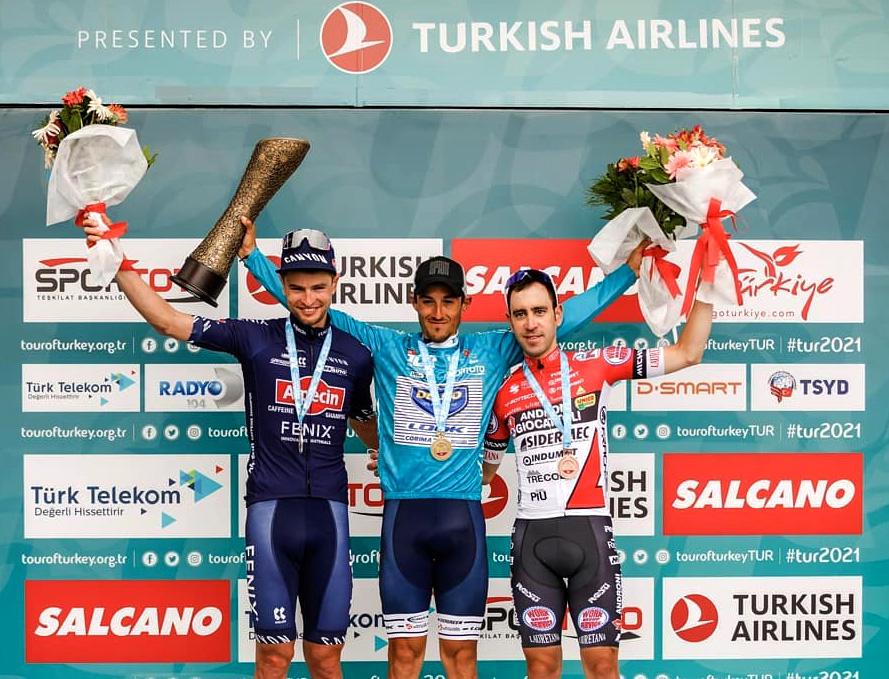 Balito podio en el Tour de Turquía
