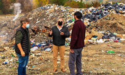 Provincia firmó un convenio con El Hoyo para la erradicación del basural a cielo abierto
