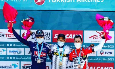 Edu Sepúlveda podio 5º Etapa Tour de Turquía