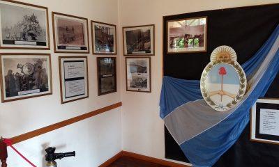 La Trochita inauguró una muestra histórica en Esquel
