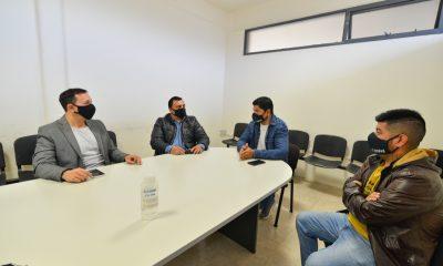 Maderna propició encuentro de UOCRA con el Secretario de Trabajo provincial